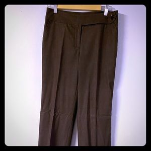 Woman's pants Chapter One size 6 Brown